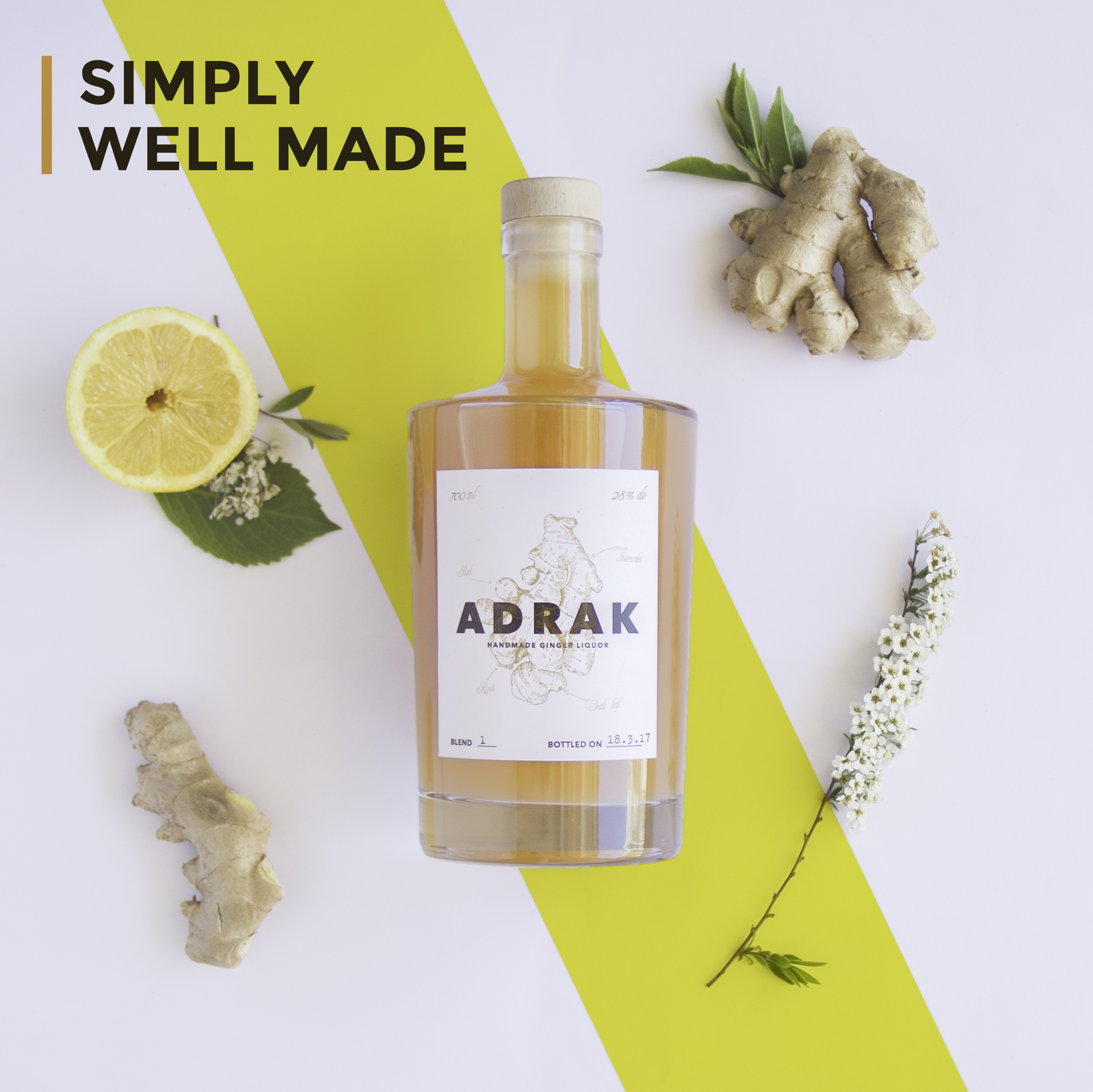ADRAK Branding