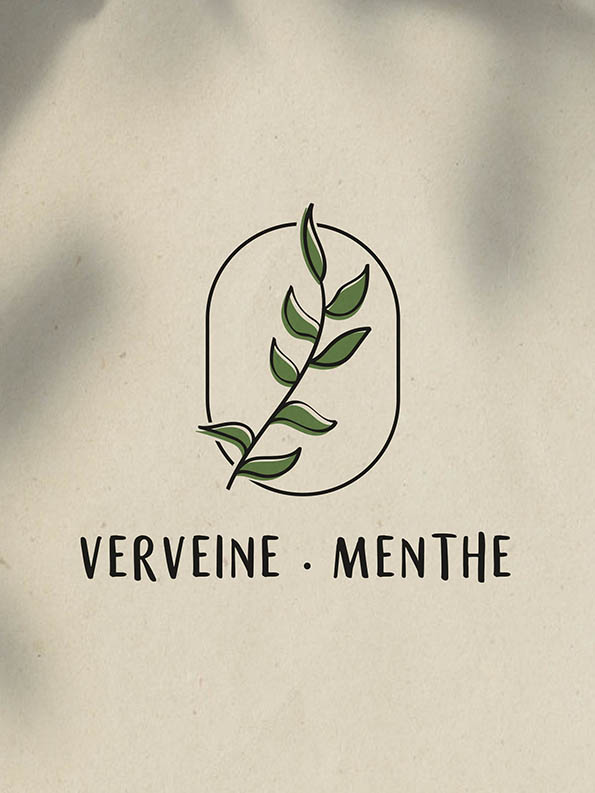 Verveine Menthe Logo
